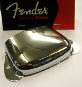 Fender Precision Bass Vintage Bridge Cover Chrome   001-0108-000  0010108000